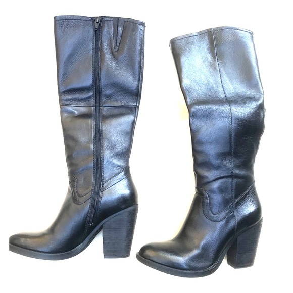 ecbc0f3ce7c Steve Madden Shoes - Steven Madden Carrter High Leather Boots - 7.5